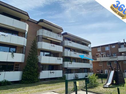 Komplett renoviert & bezugsfrei 3-Zi.-Wohnung mit TG-Stellplatz