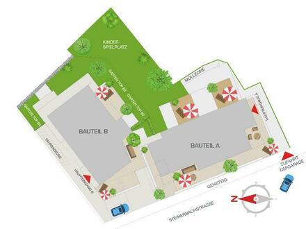 Mondsee Zentrum II - 3- Zimmer Gartenwohnung