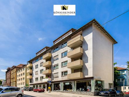 Seltene Gelegenheit in S-West: Helle 4-Zimmerwohnung mit 2 Balkonen, renoviert und sofort frei!
