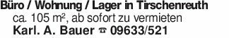 Büro / Wohnung / Lager in Tirs...