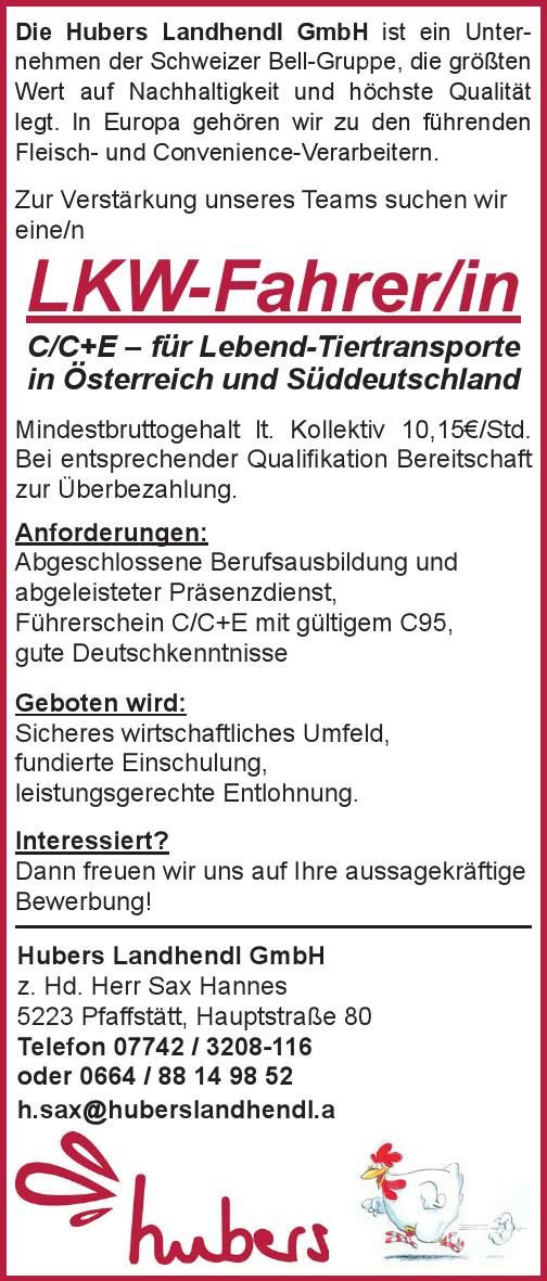 Die Hubers Landhendl GmbH ist ein Unternehmen der Schweizer Bell-Gruppe, die größten Wert auf Nachhaltigkeit und höchste Qualität legt. In Europa gehören wir zu den führenden Fleisch- und Convenience-