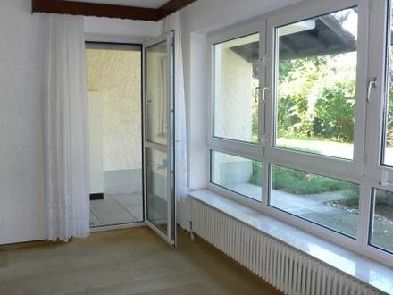 Barrierefreies Wohnen mit Garten und Garage im Villenviertel von Eberstadt