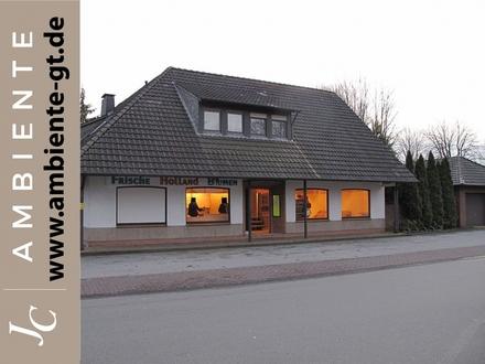 Ladenlokal (vormals Blumenverkauf) in Gütersloh - Friedrichsdorf neu zu vermieten.