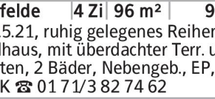 4-Zimmer Haus in Wolfsburg (38448) 96m²