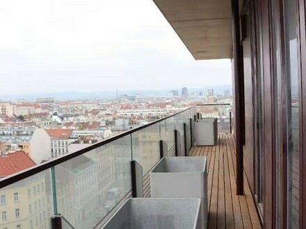 Kosmopolitisches Wohnen Nähe Botschaftsviertel mit Pool am Dach, Garage und vielem weiteren Luxus