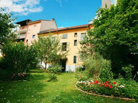 Klagenfurt - Wulfengasse: Zinshaus mit Erweiterungspotential und entzückendem Garten