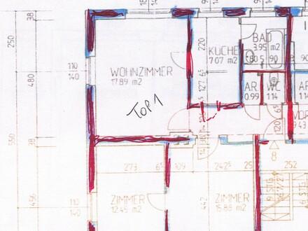 64 m² mit 1 Kinderzimmer