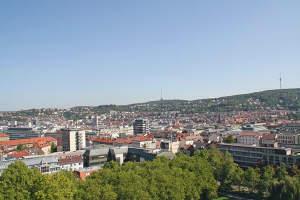Lifestyle Penthouse mit Blick auf Stuttgart