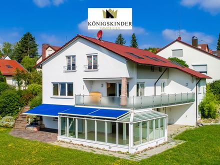 Einfamilienhaus mit großer Einliegerwohnung in herrlich ruhiger Aussichtslage von Esslingen