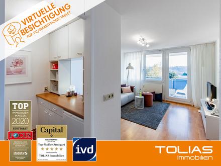 Tolles Duo! Attraktive 2-Zimmer-Wohnung mit Balkon, Tiefgarage - Ideal für Kapitalanleger