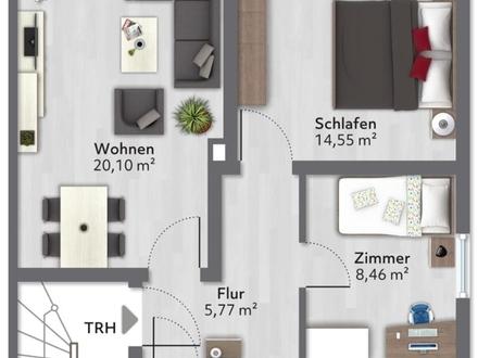 Helle Mietwohnung in Darmstadt Heimstättensiedlung