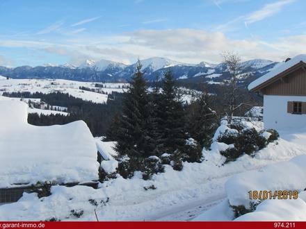In wunderbarer Aussichtslage mit vollem Bergblick auf die Nagelfluhkette!