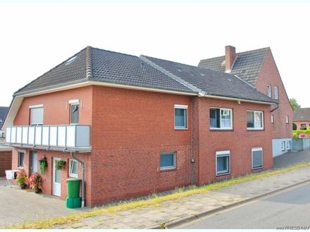 HUSUM/NORDSEE: Großes Zweifamilienhaus mit ebenerdiger Wohnung und Vollkeller am Stadtrand !