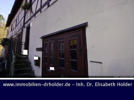 Baubiologie im Denkmal im Donautal: Fachwerkensemble mit Scheunen und Stall, Kauf, Riedlingen