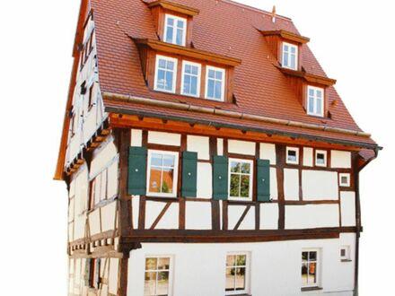 Absolute Rarität: Außergewöhnliches Fachwerkhaus in der Sindelfinger Altstadt