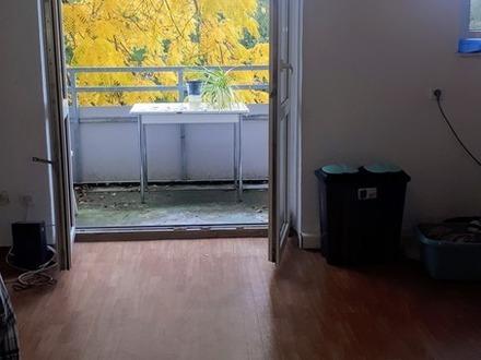 Wohnen in Hof ganz oben in der 3. Etage mit Blick ins Grüne!