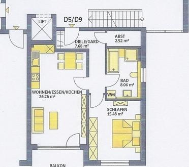 2 ZKB 64 m² 01.09. 717,- 160,- LL Wiesenring 1.OG,EBK,O-Balkon, Kellerraum,...
