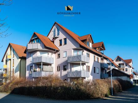 Schicke 3-Zi. Wohnung mit Balkon, Keller und Tiefgaragenstellplatz!
