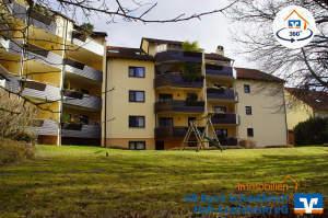Gemütliche Dachwohnung mit großer Dachterrasse und herrlicher Aussicht über Crailsheim