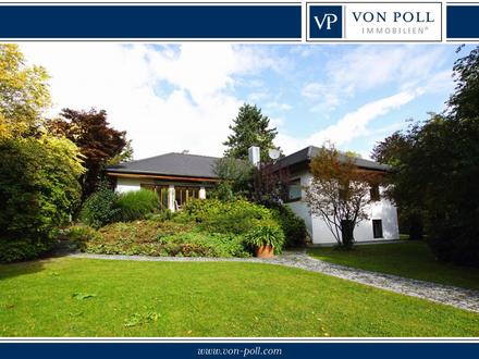 Wohnen im Park !!! Erstklassiges Einfamilienhaus in Landshuter Spitzen-Berglage!