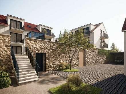 """""""Haus im Haus"""" 2-Zimmer-Wohnung mit Terrasse und eigenem Eingang - An der Kirchenpforte"""