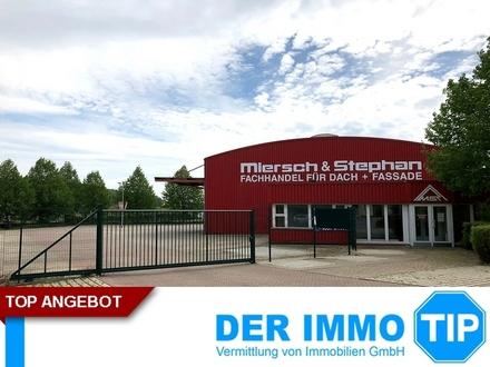 Gewerbehalle mit Büroanteil in Klingenberg zur MIETE