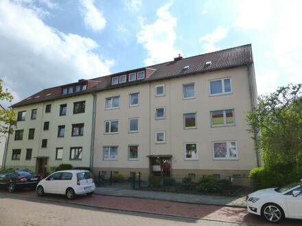 Kapitalanlage: Gut geschnittene und geräumige Zwei-Zimmer-Eigentumswohnung in Bremen-Woltmershausen