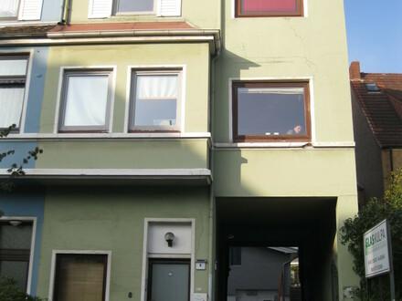 Studentenhaus in Walle mit Werkstatt
