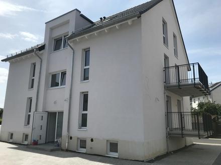 Neubau - Erstbezug: Helle 2 Zimmerwohnung in Goldbach mit Balkon
