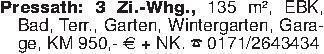 Pressath: 3 Zi.-Whg., 135 m²,...