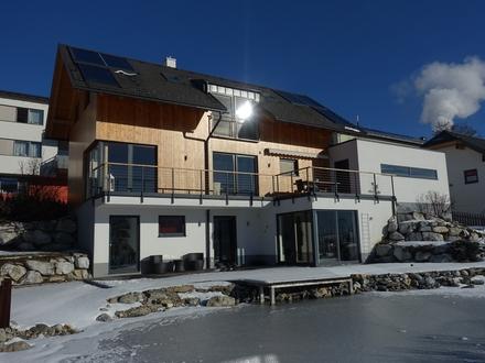Modernes Sonnen-Chalet mit Naturschwimmteich in der Ski- und Ferienregion Lungau
