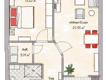 Helle Eigentumswohnung mit sonnigem Balkon