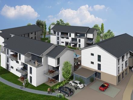 3 Zimmer Seniorenwohnung Allmendingen, Küche Garage, Neubau