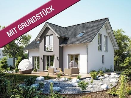 Ein Familienhaus mit besonderer Ausstrahlung in Krumbach (inkl. Grundstück & Nebenkosten & KfW 55)