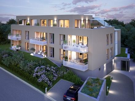 ERSTBEZUG - Moderne Terrassenwohnung mit Gartenanteil!