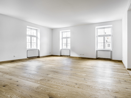 Renovierte 3-Zi.-Wohnung mit Blick auf die Landshuter Altstadt, mit Balkon, Garagenstellplatz