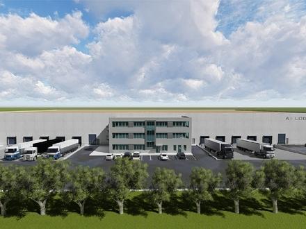Direkt an der A1: Neubau einer Lager- und Logistikhalle