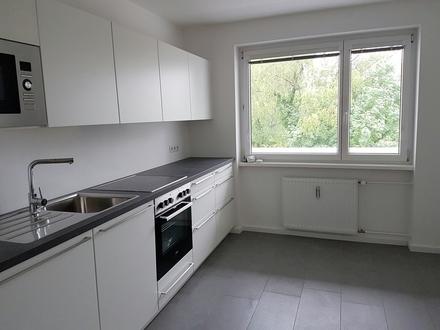 Bestausstattung! Renovierte 2 Zimmerwohnung mit Wohnküche und Westloggia