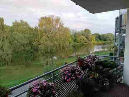 Von Privat, Neustadt, mit traumhaftem Blick auf die Kleine Weser