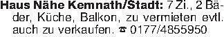 Haus Nähe Kemnath/Stadt: 7 Zi....