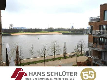 Weserblick - Neuwertige 3-Zi.-ETW direkt am Überseepark!