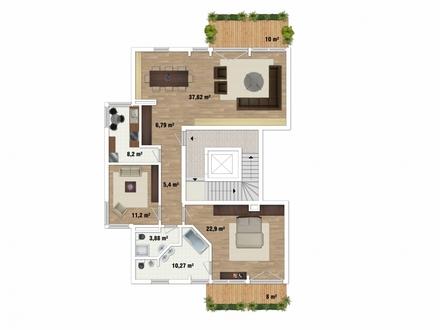 Exquisite 3-Zimmer-Wohnung im Stadtzentrum von Bayreuth - Direkt am Hofgarten