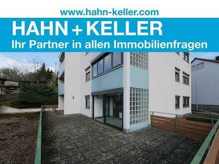 Pfiffige 3-Zi.-Whg. mit guter Aufteilung, Wintergarten und Terrasse!