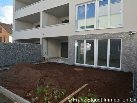NEUBAU: Exklusive 2-Zimmer-Wohnung in Goldbach mit Gartenanteil
