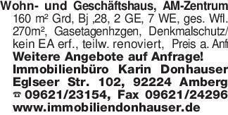 Wohn- und Geschäftshaus, AM-Ze...