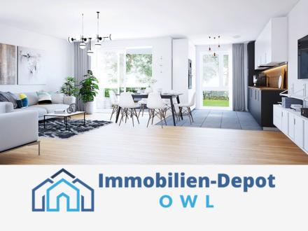 4-Zimmer-Traum mit offener Küche, Sonnenschein-Terrasse und Gartenteil