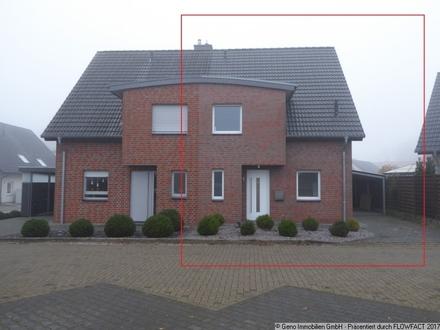 Moderne Doppelhaushälfte mit Carport in guter Lage von Steinhagen
