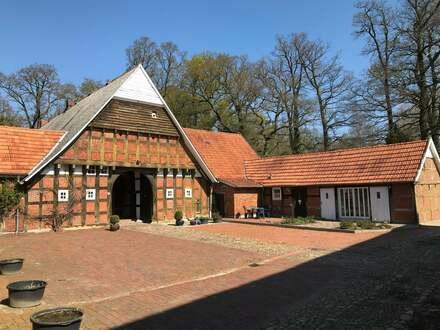Denkmalgeschützter Artlandhof im Außenbereich der Gemeinde Menslage