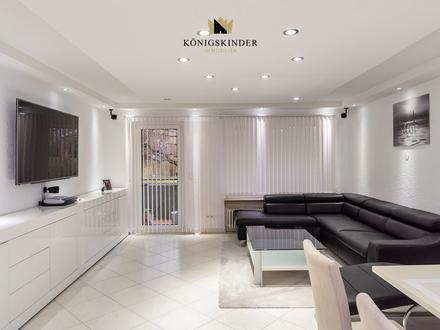 Moderne 3-Zimmer-Wohnung mit Balkon zu verkaufen