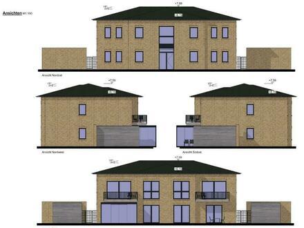 Jetzt zugreifen! Neubau - Eigentumswohnung mit Balkon und Stellplatz in sehr guter Lage von Pewsum!